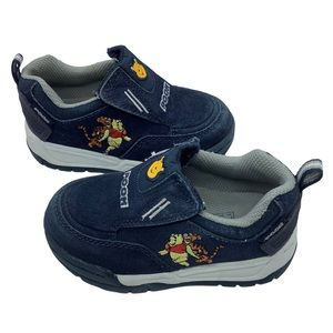 Disney Pooh sneakers leather blue Size 8